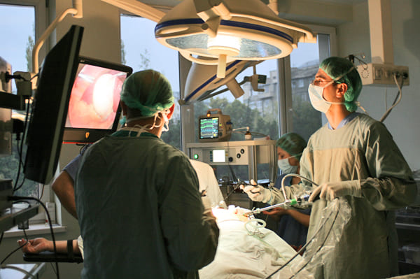 Лечение холангита. Лапароскопия