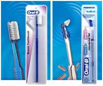 Ортодонтическая зубная щётка и Однопучковая зубная щётка