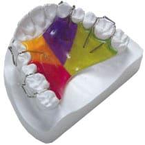 Одночелюстная зубная пластинка