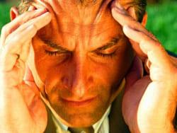 Кластерная головная боль (болит голова)